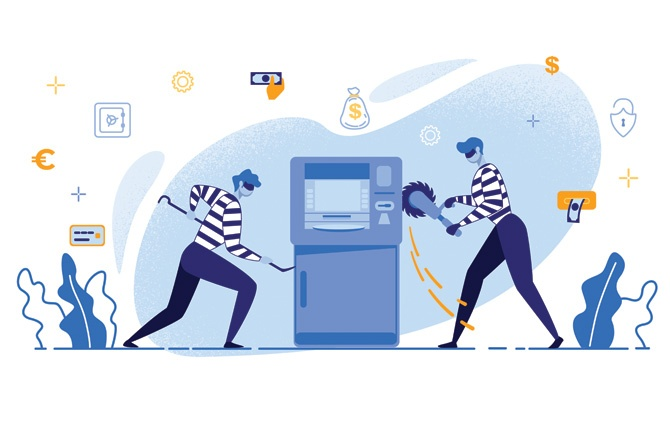 ATM-thefts